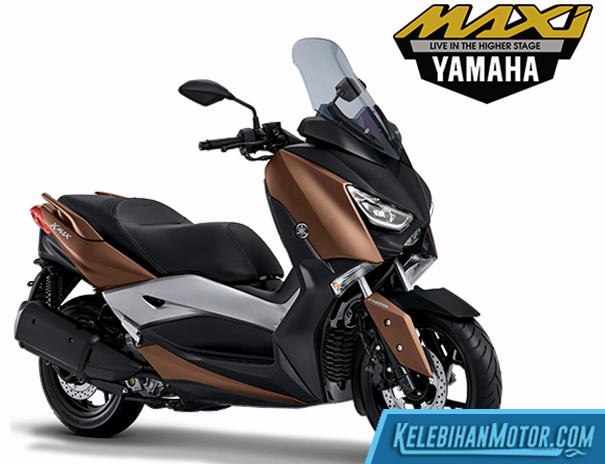 Spesifikasi dan Harga Yamaha XMAX