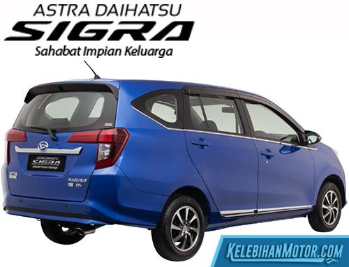 Spesifikasi Daihatsu Sigra Terlengkap