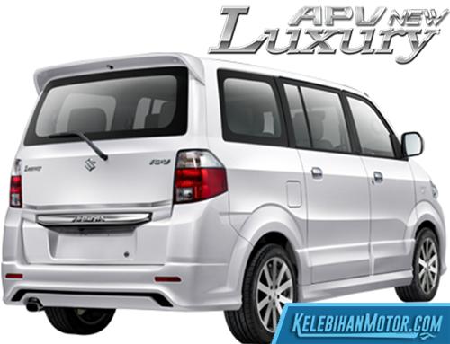 Spesifikasi Suzuki APV Luxury