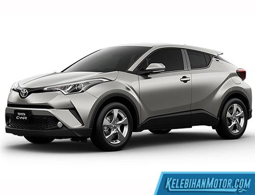 Kekurangan Toyota C-HR Grey