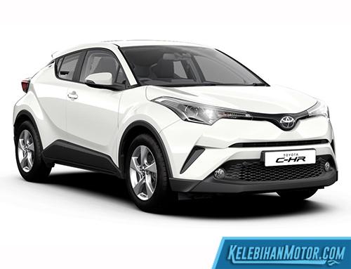 Kelebihan Toyota C-HR White
