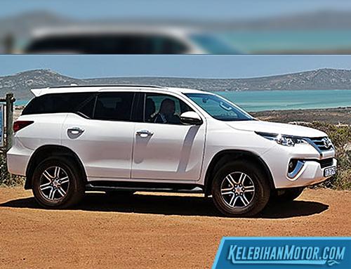 Biaya Pajak Mobil Toyota Fortuner